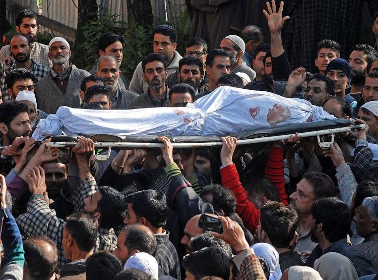 Funeral Procession of Raja Begum