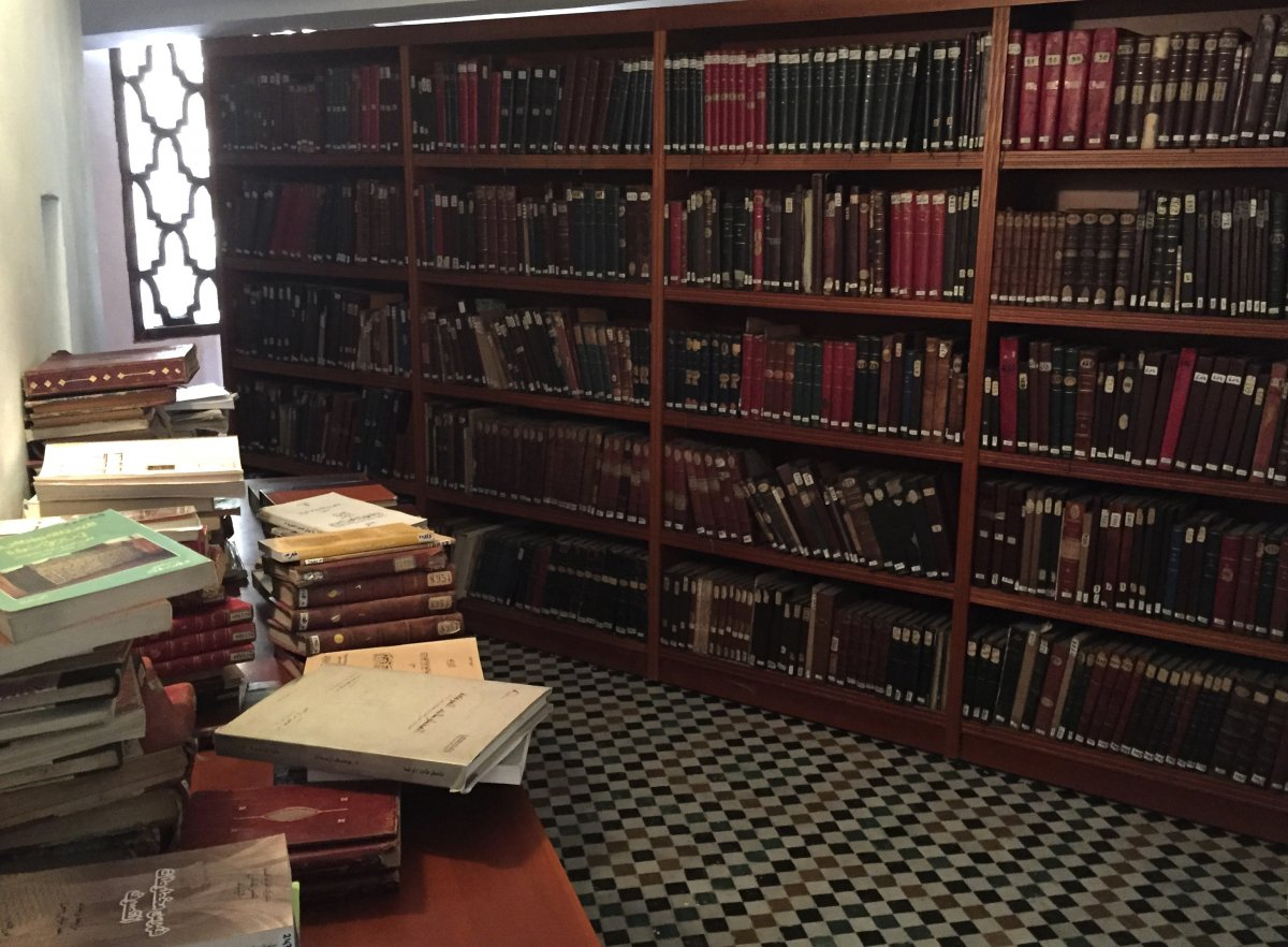 Reading room in al-qarawiyyin university