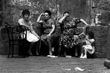 Naples, 1964; photograph by Bruno Barbey