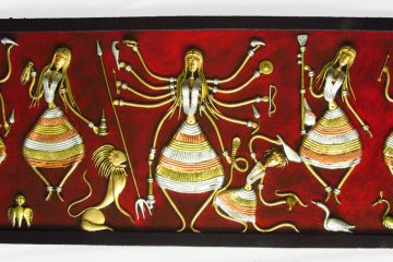 handicraft-durga-family-wall-hanging