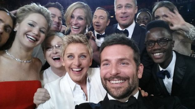 Ellen's Oscar selfie is the most retweeted photo of all time