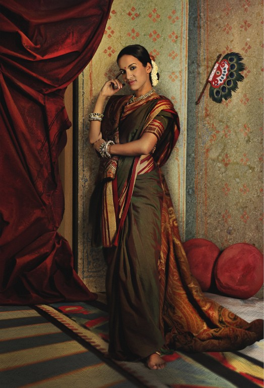 Rohit Chawla, Vasantasena, featuring Anoushka Shankar. Archival pigment print. Courtesy Tasveer