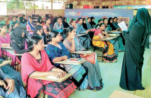 In Class: so far, more than 180 students have learnt Sanskrit under Rasiya