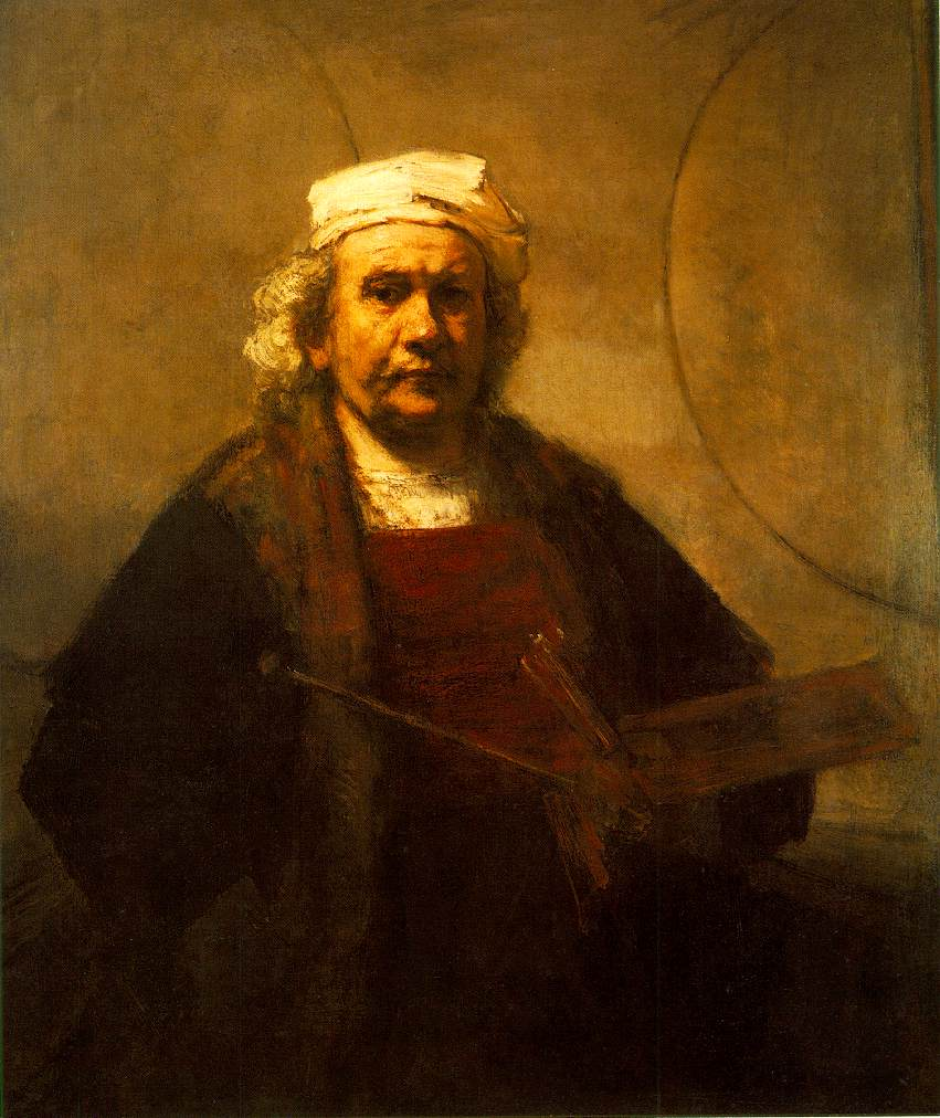 Rembrandt self portrait (1661) Throughout history artists have been obsessed with the idea of documenting themselves