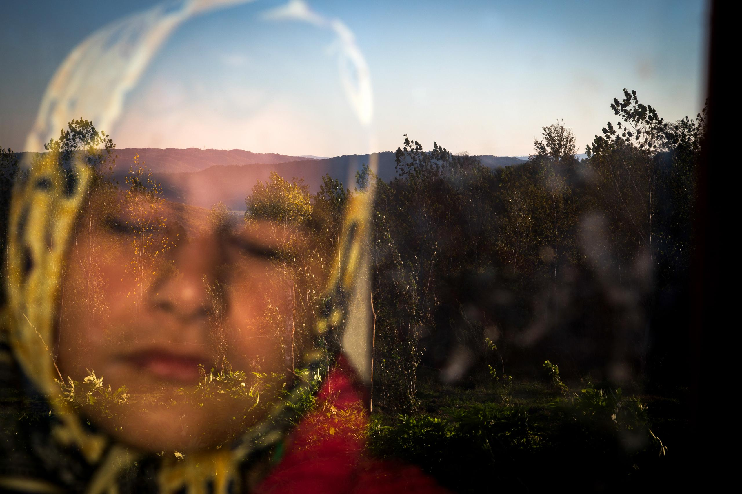 Zohreh Saberi won the third prize in the Daily Life category for her picture, Into The Light, which shows 13-year-old Raleigh who is born blind as she stands behind a window in the morning, to feel the warmth of the sun on her face.