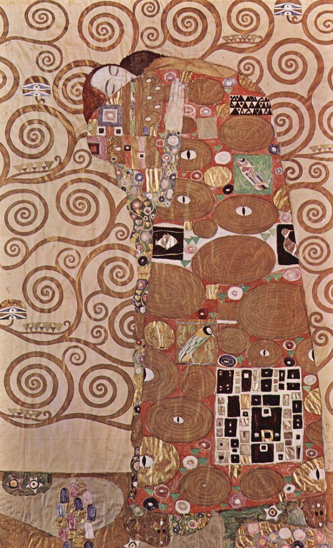 Gustav Klimt, Fulfilment,1909
