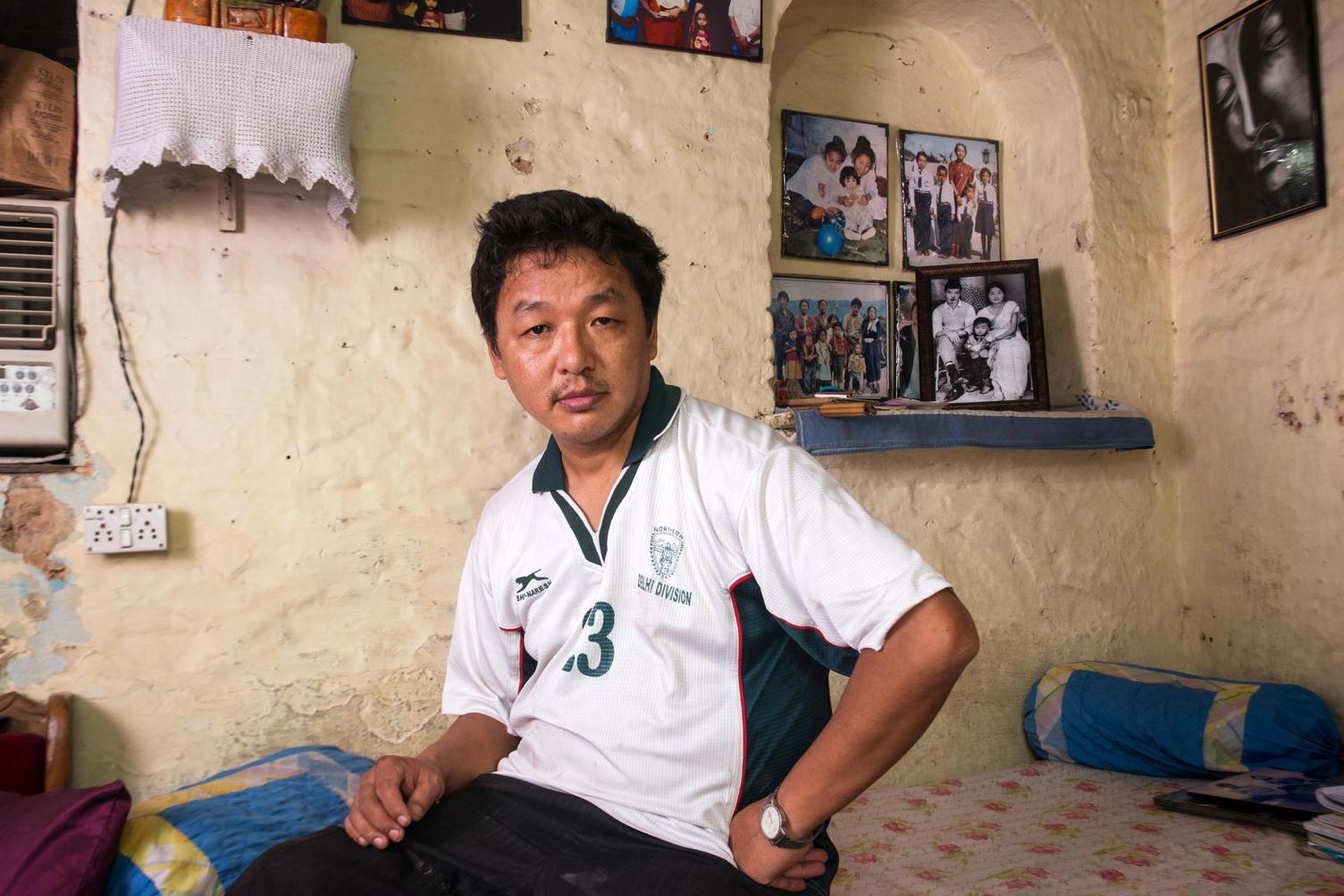 Guman Dhoj Limbu is a political activist from Darjeeling. He also owns a restaurant in Munirka, New Delhi