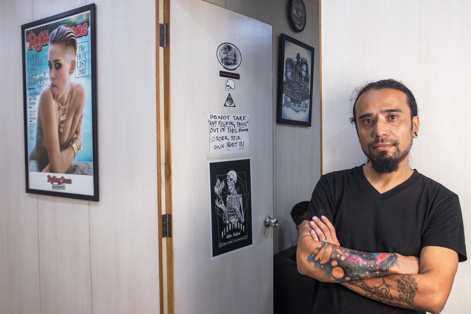 Hendry Lama is from Kalimpong and now works as a tattoo artist in Greater Kailash, New Delhi