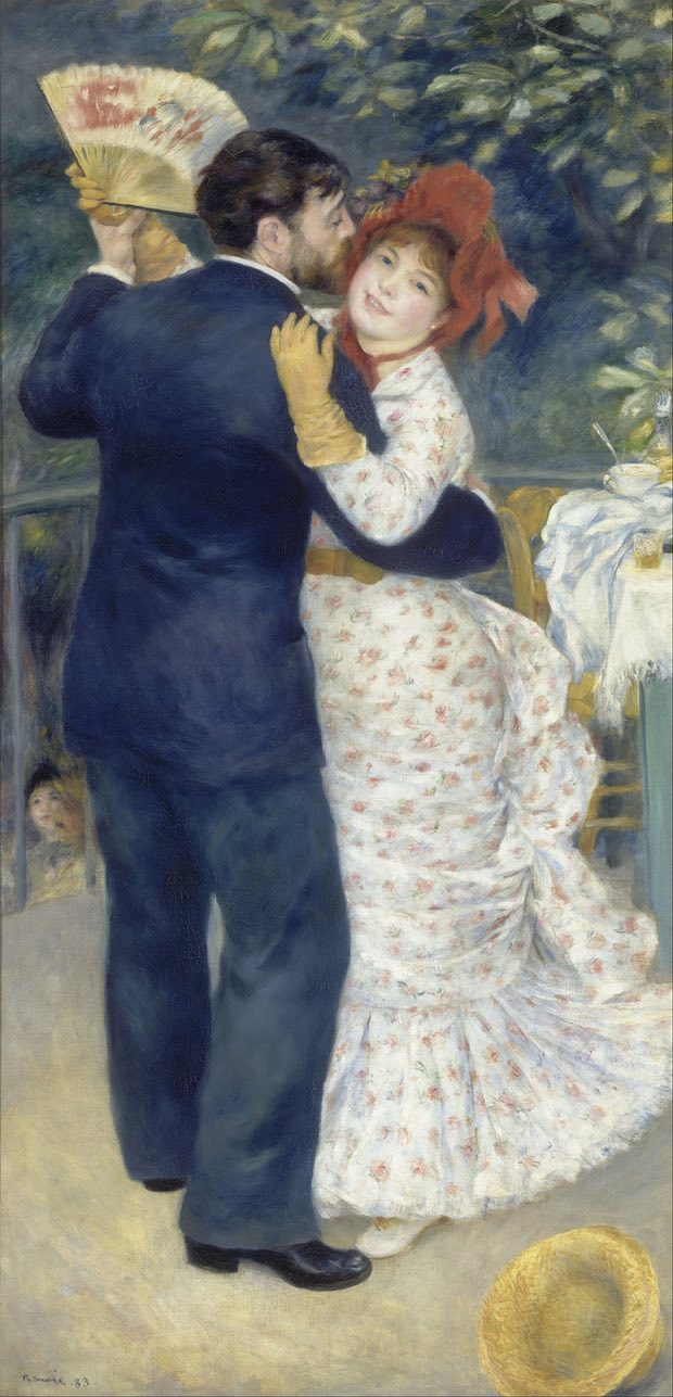 Pierre Auguste Renoir, Dance in the Country, 1883