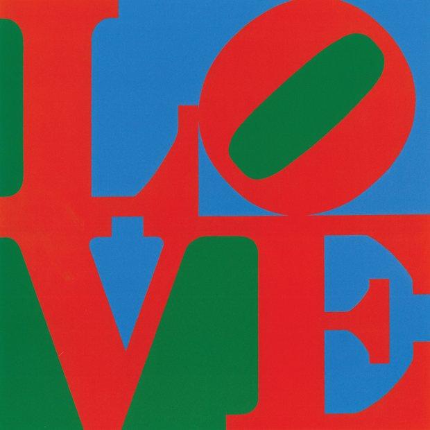 Robert Indiana, Love, 1965