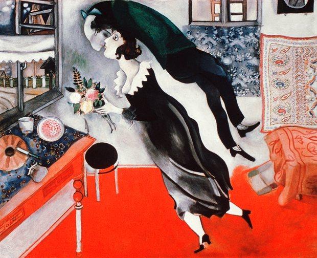 Marc Chagall, The Birthday, 1915