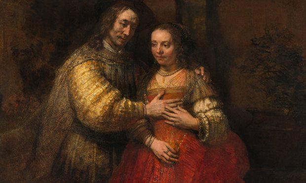 Rembrandt, The Jewish Bride, 1666